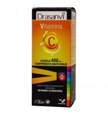 La vitamine C 400mg 60 Comprimés à Croquer Drasanvi