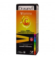 Vitamina C 400mg 60 Comprimidos Masticable Drasanvi