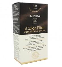 Tinte Apivita 4.0 Castaño