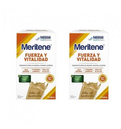 Meritene Decaffeinated Coffee Duplo 30 sachets offer