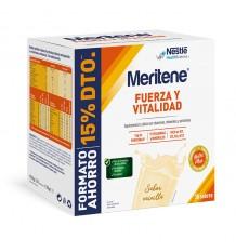 Meritene Vanille Duplo 30 Sachets Zusammensetzung