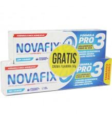 Novafix Ultrafuerte insipide 70 g + Novafix Ultrafuerte 50g