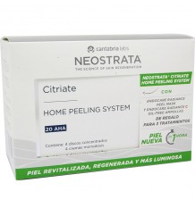 Neostrata Citriate Hps 20 AHA + Radiance Oil Free 7 Ampollas
