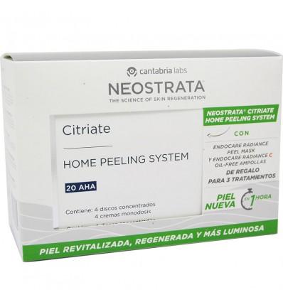 Neostrata Citriate Hps 20 AHA + Radiance Oil Free Blasen 7