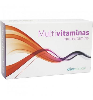 Dietclinical Multivitaminas 30 comprimidos