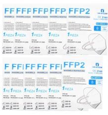 Mascarilla FFP2 NR Store Blanca Pack 10 Unidades