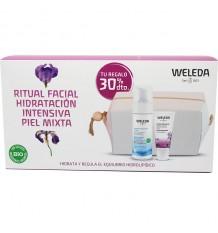 Weleda Feuchtigkeitsspendende Flüssigkeit Iris 30 ml + Cleansing Foam 150ml