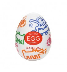 Tenga Egg Masturbator Egg Keith Haring Street