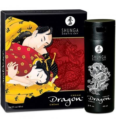 Shunga Creme Dragon Aumentar A Ereção Morangos Hortelã