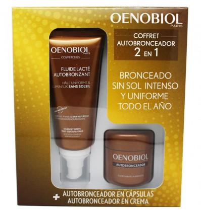 Oenobiol self-Tanner Chest 30 Capsules Fluid-Tanner 100 ml
