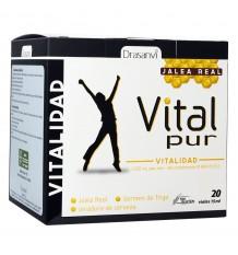 Vitalpur Vitalidad Jalea Real 20 Viales 15ml