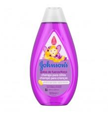 Johnsons Xampu Gotas de Força 500ml