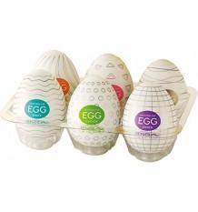 Tenga Egg Huevo Masturbador 6 Colors 6 Unidades