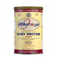 Solgar Whey To Go Proteína 340g Baunilha