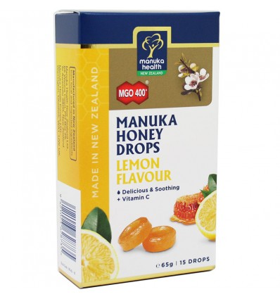 Manuka Health Doces Mel Manuka Limon Mgo 400 65g