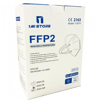 Mascarilla Ffp2 Nr 1MiStore Blanca 20 Unidades Caja Completa