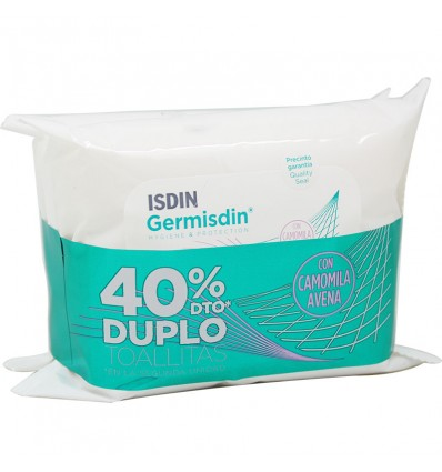 Germisdin Wipes 20+20 Units Duplo Promotion
