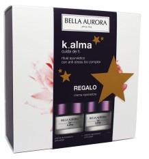 Bella Aurora K Âme Crème Éclairant 50ml+Crème réparatrice 50ml