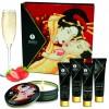 Shunga Kit Secret Gueixa Morango Com Champanhe