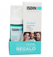 Acniben Rotina Facial Controle Brilhos Grãos 40 ml Limpador Purificante 50ml