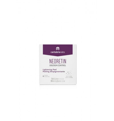 Neoretin Discrom Disco Despigmentantes 6 Unidades