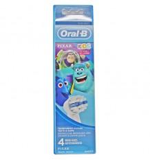 Recambios Oral B Kids Pixar 4 Unidades