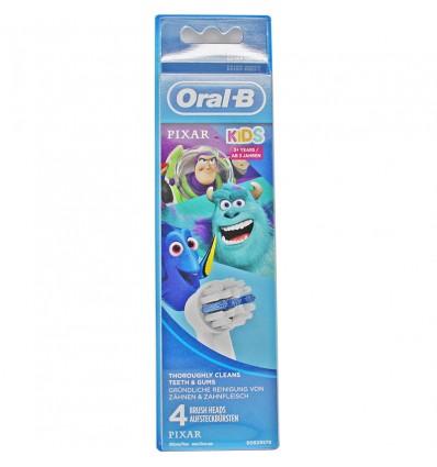 Recambios Oral-B Kids Pixar-4 Einheiten