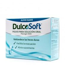 Dulcosoft 20 Enveloppes Macrogol 4000