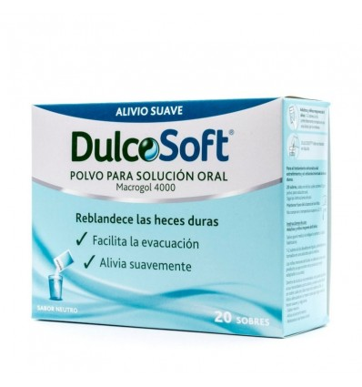 Dulcosoft 20 Umschläge Macrogol 4000
