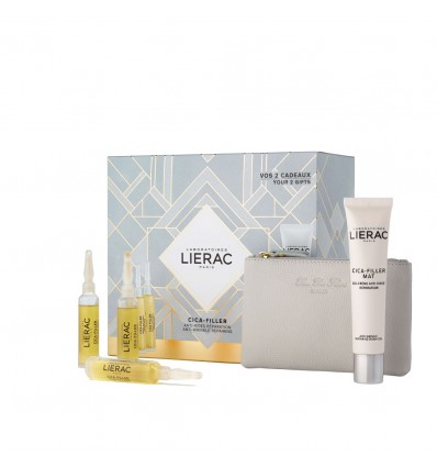 Lierac Chest Cica Filler Gel anti-Wrinkle Cream 30ml + repair Serum 30ml