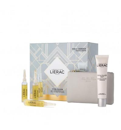 Lierac Poitrine de l'Icca, Remplissage Gel Crème anti-Rides 30 ml + Sérum réparateur 30ml