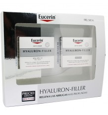 Eucerin Brust Hyaluron Filler Creme trockene Haut 50 ml + Cream Nacht 50 ml kaufen