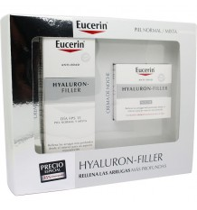 Eucerin Box Hyaluron Filler Day Cream Fps15 50ml + Night Cream 50ml