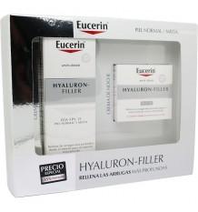 Eucerin Box Hyaluron Füllstoff Tag Creme Fps15 50 ml + Nacht Creme 50 ml
