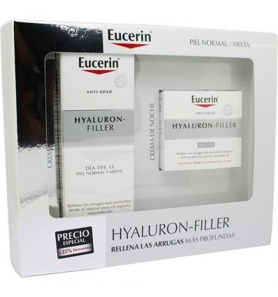 Eucerin Poitrine Hyaluron Filler Crème de Jour Fps15 50ml + Crème de Nuit 50ml