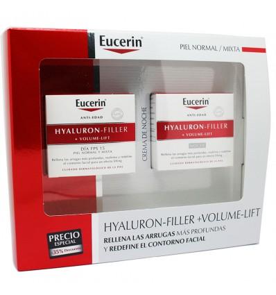 Eucerin Cofre Volume Filler Crema Fps15 Dia 50ml + Crema Noche 50ml