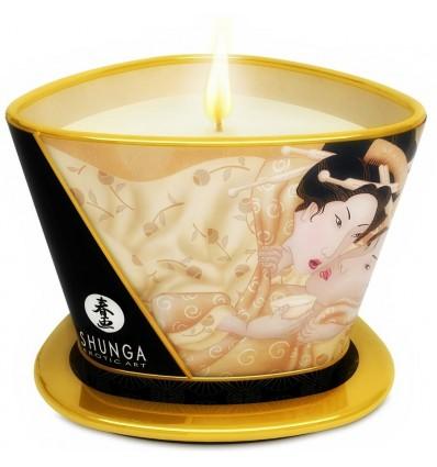 Shunga Bougie de Massage à la Vanille 170 ml