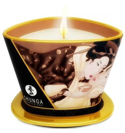 Shunga Bougie de Massage Chocolat 170 ml