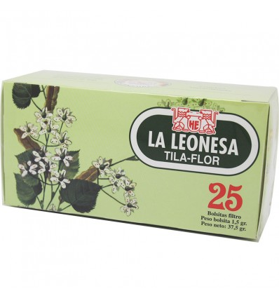 Tila Flower The Leonese 25 infusions