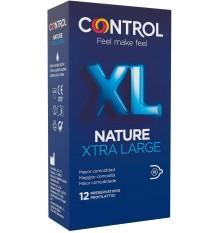Controle Preservativos Nature XL 12 unidades