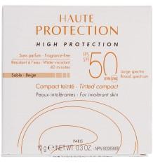 Avene Solaire Minérale SPF50 Compact Sable 10g