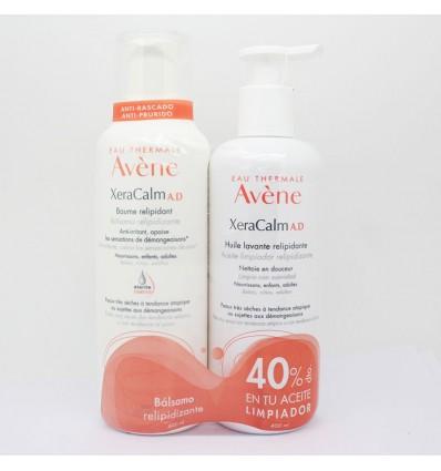 Avene Xeracalm AD Balsamo 400 ml+Aceite Limpiador 400ml