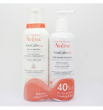 Avene Xeracalm AD Balsamo 400 ml+cleansing Oil 400ml