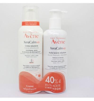 Avene Xeracalm AD Crème 400 ml+Huile nettoyante 400ml