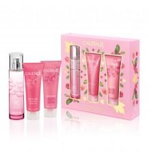 Caudalie Baú Rose de Vigne Perfume 50 ml Gel 50 ml Locion 50 ml