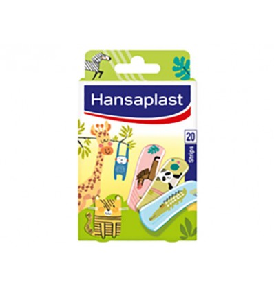 Hansaplast Tiritas Kids Animals 20 Unidades