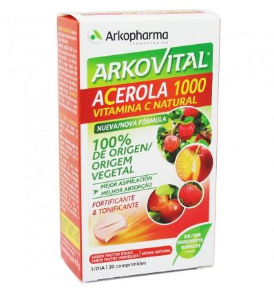 Arkovital Acerola 1000 30 Tablets