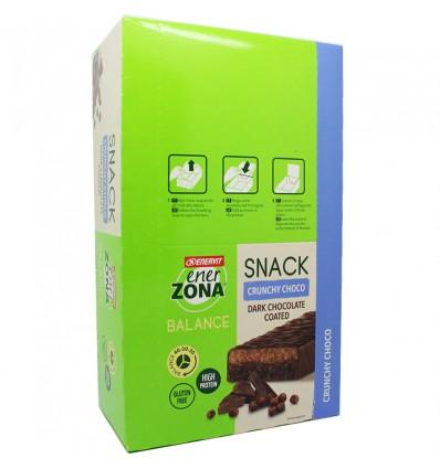 Enerzona Snack Crunchy Choco 30 Barritas