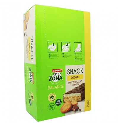 Enerzona Snack Cookie 30 Barritas
