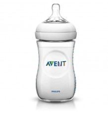 Avent Natural Biberon 260 ml Blanco